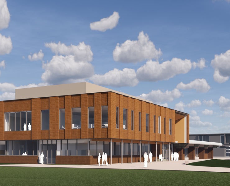 Student Services Building & Bill Brod Community Center