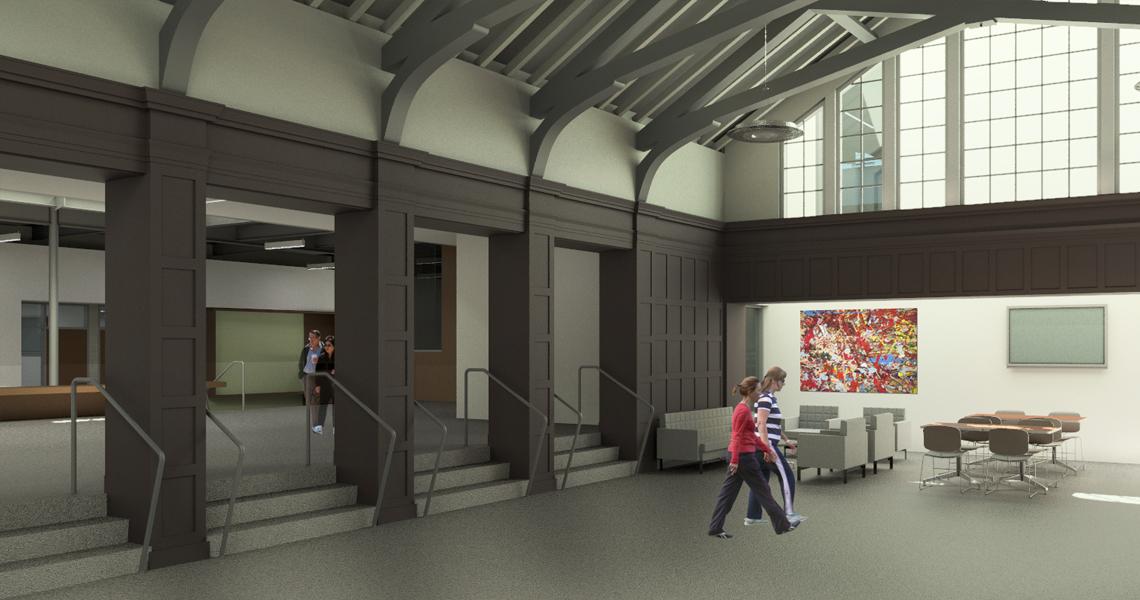Straub Hall Renovation and Classroom Addition
