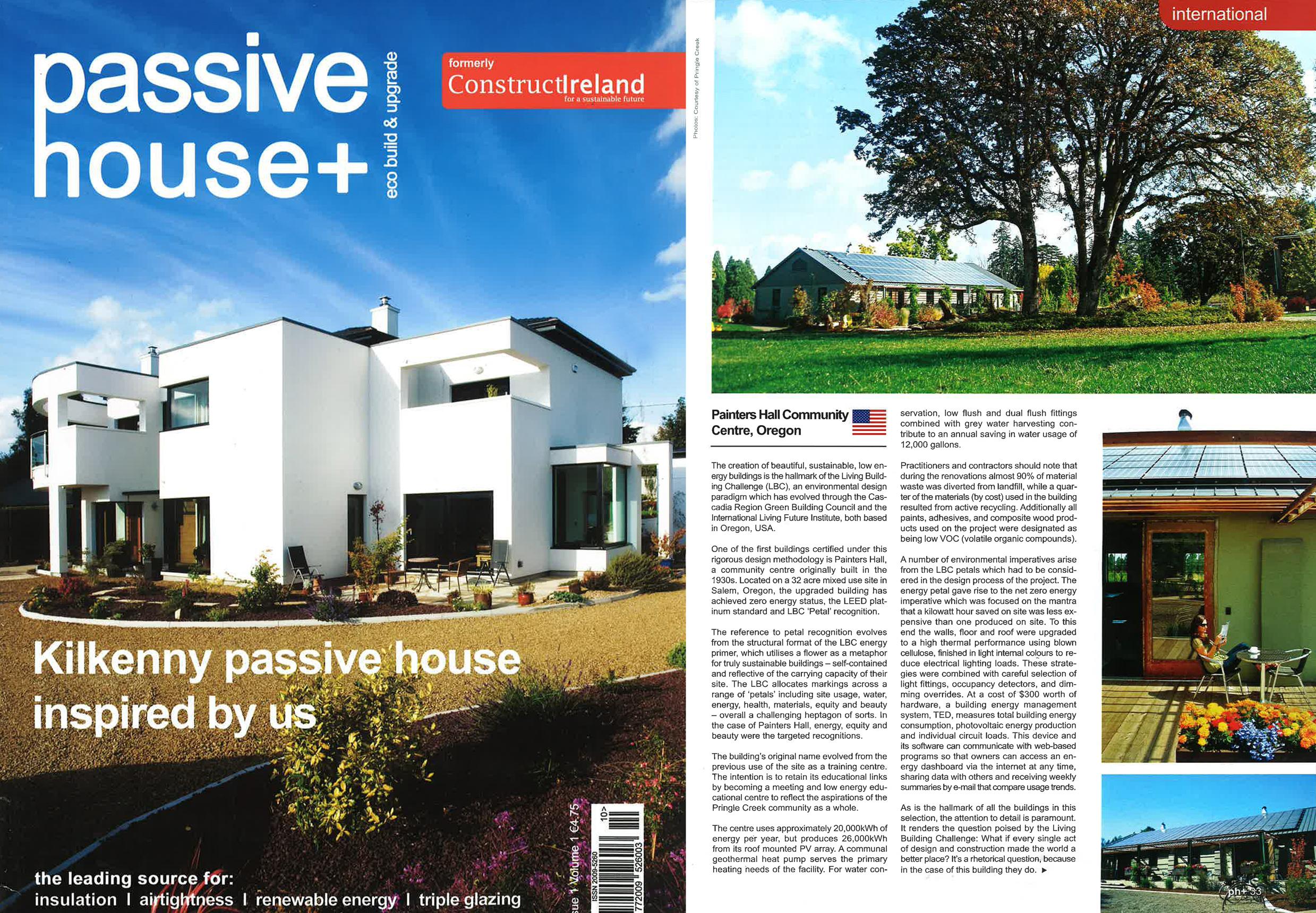 House Magazine Amusing Passive House Magazine Winter 2013  Opsis Architecture Decorating Design
