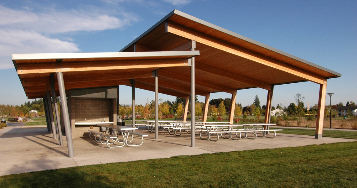 Discovery Meadows Park Shelters