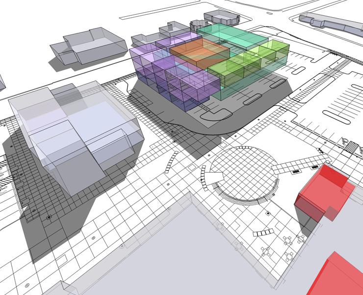 Four Campus Master Plan