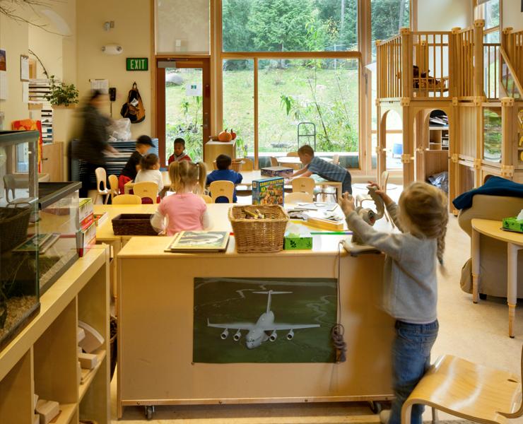 Outdoor Classroom Design ~ Garnero child development center
